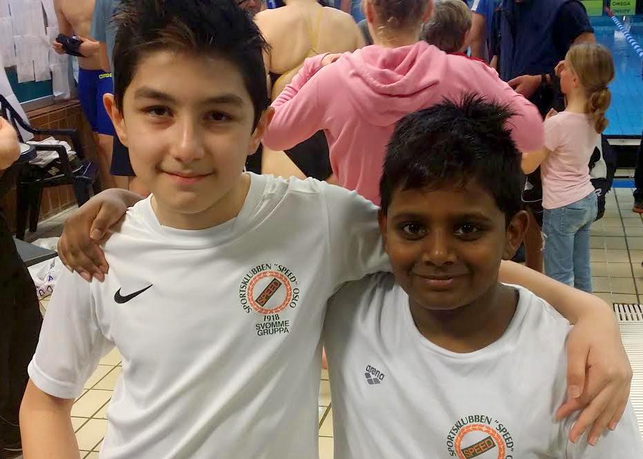 Naveen og Nilacsan ble nummer 1 og 2 i gutter 2004.